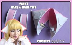 HOW TO MAKE / #DIY #CHII #CHOBITS #EARS  english version https://youtu.be/yTCncPIwuME spanish verion  https://youtu.be/dRZhCjX9oT8 italian version https://youtu.be/7icFgj6sJ5U