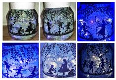 Fairy Wishes decor for large jars bowls globes terraniums on Craftsuprint - Add To Basket!
