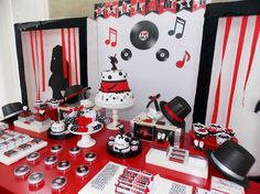 What a great Michael Jackson birthday party! See more party ideas at CatchMyParty.com!