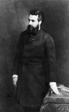 Alexander Graham Bell Scientist, inventor, Engineer.  Credited with the invention of the telephone, among other things.