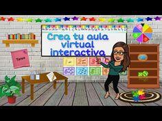 Tutorial: Crea tu Aula Virtual Interactiva - YouTube School Plan, School Study Tips, Digital Board, Classroom Background, English Time, Teaching Plan, Flipped Classroom, Best Teacher, Preschool Activities