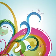 Abstract Swirl Vector Background | Free Vector Graphics | All Free Web Resources For Designer - Web Design Hot!