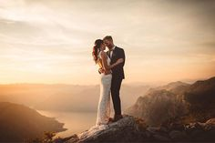 Proud as punch to pop up a pic from Alisha and Andrew's spectacular Balkan wedding. Here they are after a most amazing adventure charging up a mountain in my little rental car to catch the last of the evening glow. Congratulations guys, you 2 are everything - Jim. #montenegro #montengrowedding #kotor #mountainlove #fortheloveofmountains  #junebugweddings  Instagram Profile: @jimpollardgoesclick  Source/Origem: https://www.instagram.com/p/BUyUDwSjuS-/
