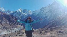 Maud over haar leven vlakbij de prachtige bergen van Nepal.