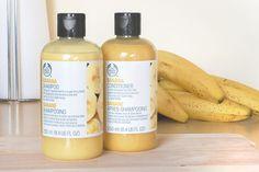 The Body Shop Banana Shampoo & Conditioner