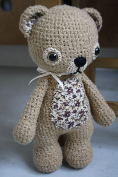 Amigurumi -fabric tummy