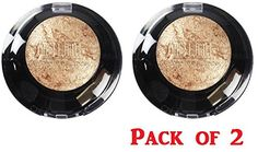 Milani Runway Eye Shadow 606 Drench In Gold Pack of 2 ** Click on the image for additional details.