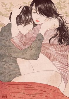"Gorgeous illustrations by South Korean artist Yang Se Eun, who goes by the moniker ""Zipcy."""