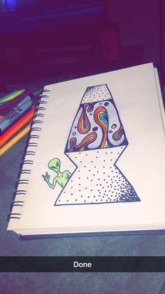 Drawing Tips trippy drawings Alien Drawings, Trippy Drawings, Cool Art Drawings, Pencil Art Drawings, Art Drawings Sketches, Hippie Drawing, Hippie Painting, Trippy Painting, Hippie Art