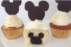Must Try: Mickey Mouse Cupcakes