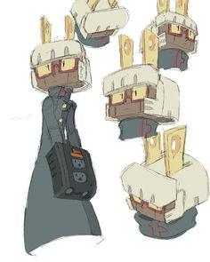 Character Concept, Character Art, Concept Art, Object Heads, Robots Characters, Compass Design, Robot Design, Cyborgs, Robot Art