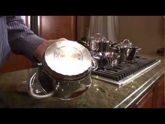 ▶ 1.4QT TULIP DUTCH OVEN SURGICAL STAINLESS STEEL by BergHOFF1102573 90 - YouTube