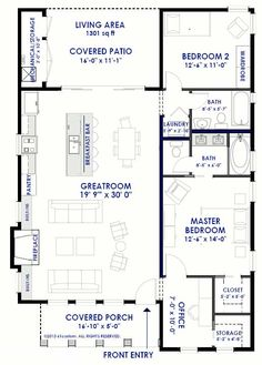 plano-de-casa-grande-mediterranea-dos-dormitorios-espanola