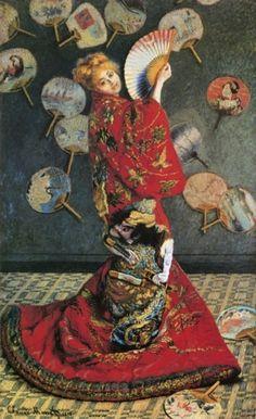 Madam Monet in Japanese Costume - Monet, 1876