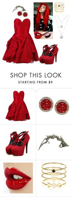 """""""Untitled #423"""" by mademoiselle-red on Polyvore featuring Eileen Kirby, Rachel Rachel Roy, Wet Seal and Accessorize"""