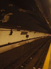 Court Street, Brooklyn subway station.  My working place subway stop...