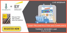 Imarticus Learning is proud to announce its newest edition of info webinars, which will be in collaboration with EY LLP. In this webinar we will focus on the situation of distressed assets in India its various remedial measures. This webinar will be presented by Mr. Abizer Diwanji, Partner and National Leader-Financial Services and Restructuring, EY LLP. Abizer is a rank holder, Chartered Accountant with more than 15 years of sterling experience.