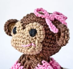 Free+Crochet+Monkey+Pattern | Recent Photos The Commons Getty Collection Galleries World Map App ...