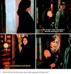 Regina, Cruella and Maleficent #OnceUponATime