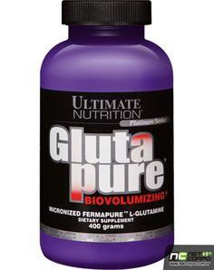A glutamina está presente em muitas proteínas e, é o aminoácido mais abundante no plasma (sangue) e nos tecidos. A glutamina, um aminoácido distribuído em abundância nos músculos, auxilia na síntese das mioproteínas e inibe sua quebra, como ocorre com a leucina. Exercícios vigorosos requerem glutamina em vários órgãos, portanto, a suplementação de glutamina tem um papel importante durante a prática de esportes.