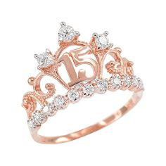 Check this charles and colvard moissanite engagement ring set from Camellia Jewelry. Scrupulously handmade in fine detail, it is a unique wedding ring set that will show her how much you care without breaking the bank. This engagement ring features wh Morganite Engagement, Rose Gold Engagement Ring, Vintage Engagement Rings, Rose Gold Crown Ring, Morganite Ring, Crown Rings, Halo Rings, Solitaire Engagement, Sweet 15