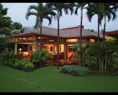 Ke'ei Beach House - tropical - exterior - hawaii - by Dinmore Cisco Architects, Inc.