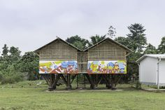 TOP 10 reader submissions of 2018 - social impact designboom Urban Architecture, Submissive, Gazebo, Outdoor Structures, Cabin, House Styles, Projects, Design, Storage