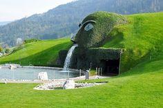 Dit zijn de spectaculairste fonteinen ter wereld - De Standaard Swarovski - Fontein in Oostenrijk