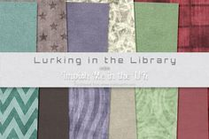 Lurkin in the Library on Craftsuprint  #cardmaking #scrapbooking #papercrafts #digiscrap