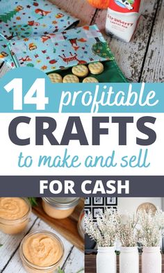 Cheap Homemade crafts to sell! I love all of these trending crafts to sell in 2020. These will be the most popular craft fair items that are sure to sell out quick! Homemade Crafts, Easy Diy Crafts, Easy Crafts, Crafts To Make And Sell, How To Make Money, Extra Money, Extra Cash, Small Business Plan, Trending Crafts