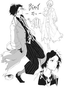 Read Character Design và Lời bạt from the story [Bungou Stray Dogs Light Novel] BEAST (full) by SamayoukiChii (Chii) with reads. Anime Demon, Anime Manga, Anime Art, Stray Dogs Anime, Bongou Stray Dogs, Beast, Edogawa Ranpo, Manga Characters, Light Novel