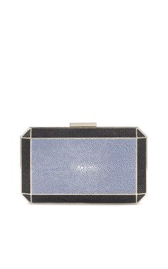 Anya Hindmarch Duke Shagreen Clutch, gorgeous