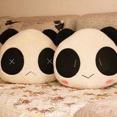 Macio Panda dos desenhos animados almofada lombar / Plush assento caricatura almofada / travesseiro de Home Textile crianças para o natal Home assento de carro cadeira