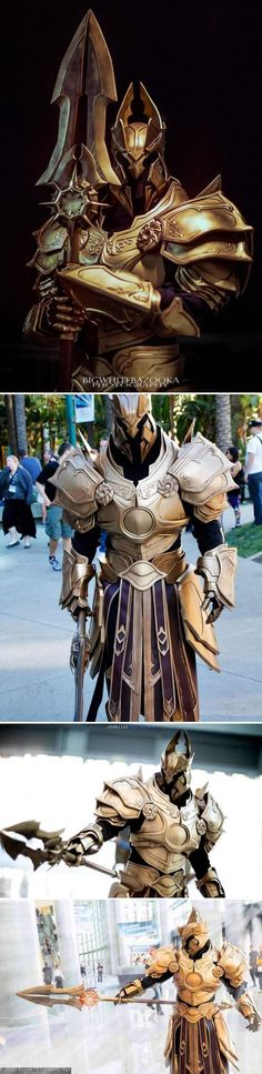 imperius archangel of valor at blizzcon 2015 by fabricator djinn