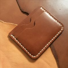 Leather card wallet by futurecentric.tumblr.com