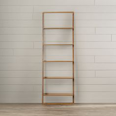 "Found it at Wayfair - Harnois 72"" Leaning Shelf"