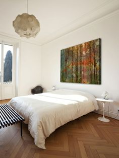 Through the Trees by Marmont Hill at Gilt. Canvas artwork of a forest.