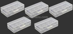 Lot de 5 boîtes pour 2 accus 18650 – 2,60€ fdp in http://www.vapoplans.com/?p=26457