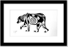 JargenInk | Drawings & Illustration | ArtPal  #penandink #originaldrawing #blackandwhite #northwest #nativeamerican