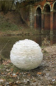 Andy Goldsworthy...I love HIM...was introduced to his art work in college art class