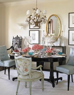 A beautiful dining room by Joe Nye, TheSilverPen.com