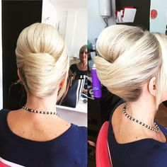 50 Classy French Twist Updo Ideas — For Real Ladies #frenchtwistupdo