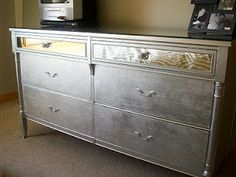 glam in a can: Drab To Fab Dresser: Before and After