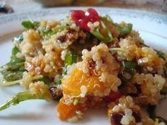 Quinoa Butternut Squash Arugula Salad - © 2013 Miri Rotkovitz