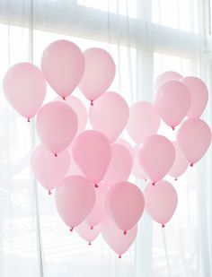 Ideas For Birthday Balloons Wallpaper Pink