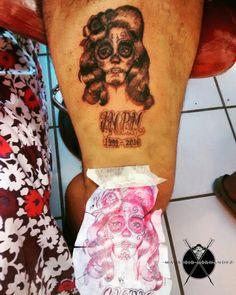 Catrina Tattoo by Mauricio Hernandez Huerta