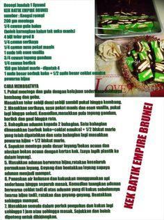 Kek batik brunei