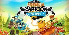 Il divertentissimo Formula Cartoon All Stars arriva su #iOS e #Android !!! (ocio al prezzo)  http://xantarmob.altervista.org/?p=32540