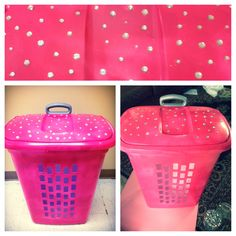 Pink Plastic Laundry Basket Magnificent Pink Laundry Basket  Not Boring Laundry Room  Pinterest  Laundry Inspiration Design