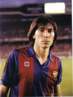 """1978-89 """"Lobo"""" Carrasco played most of his 14-year professional career with Barcelona participating in 10 winning major titles.  When he was only 20, he showed his quality in the 1979 Cup Winners Cup Final in Basle, when he started up front alongside Carles Rexach and Hans Krankl. He was a vital part of the Barça set up for 11 seasons and he played 491 times for the team to put him amongst the players who have made most appearances for the Club.."""